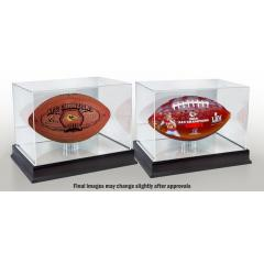 Chiefs First AFC Championship Football Set with Display Cases