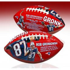 Rob Gronkowski Career Stat Art Football