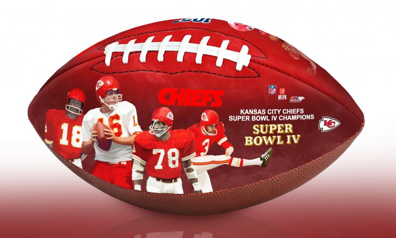 BigTimeBats.com - Kansas City Chiefs NFL 100th Legacy Art ...