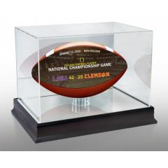 2020 CFP Championship Wilson Art Game Ball & Case