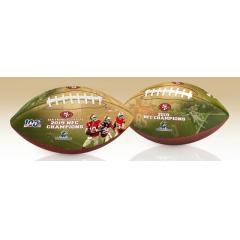 San Francisco 49ers Super Bowl LIV Commemorative Art Football