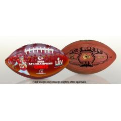 Chiefs First Ever AFC Championship Football Set