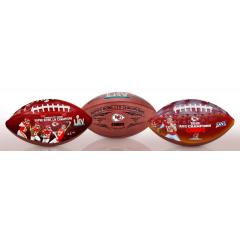 Chiefs Super Bowl LIV Champions Three Ball Set