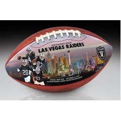Las Vegas Raiders Inaugural Season Art Football