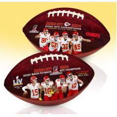 Chiefs AFC Champions Super Bowl LV Art Football