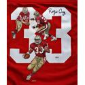 Roger Craig Signed & Hand Painted 49ers Custom Jersey